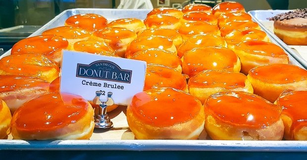 photo of creme brulee donuts