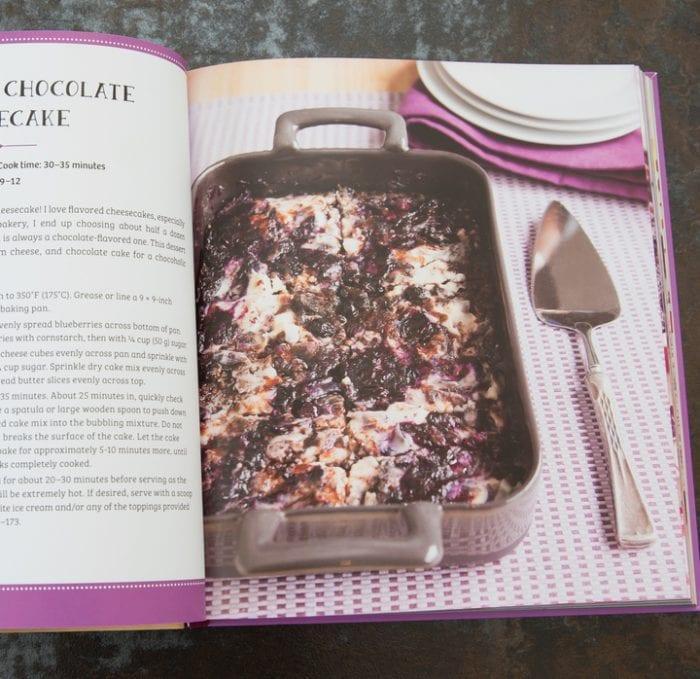 photo of a recipe in the book