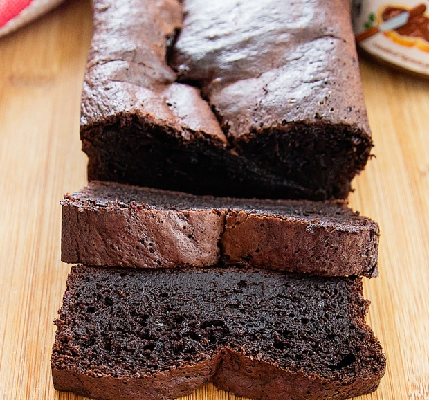 Flourless Nutella Banana Bread