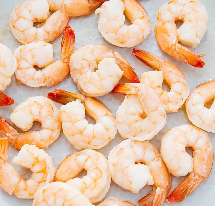 step by step photo of shrimp