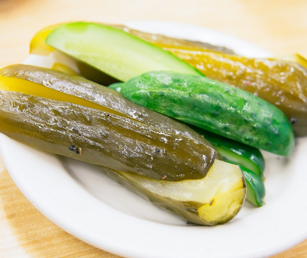 photo of a side of pickles