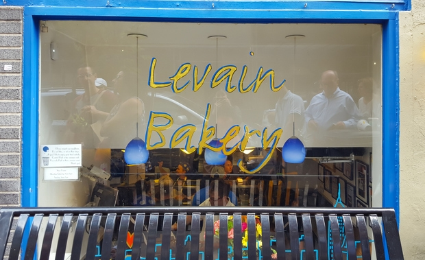 photo of the outside of Levain Bakery