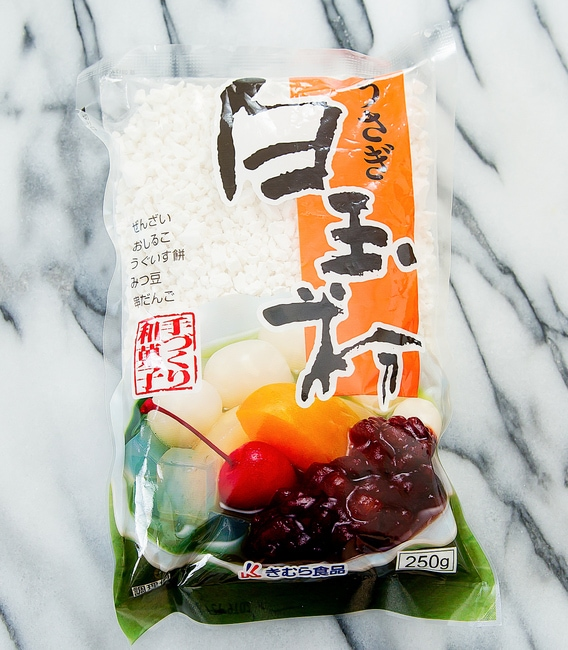 photo of a bag of Shiratamako