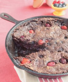 Cocoa Berry Crumble
