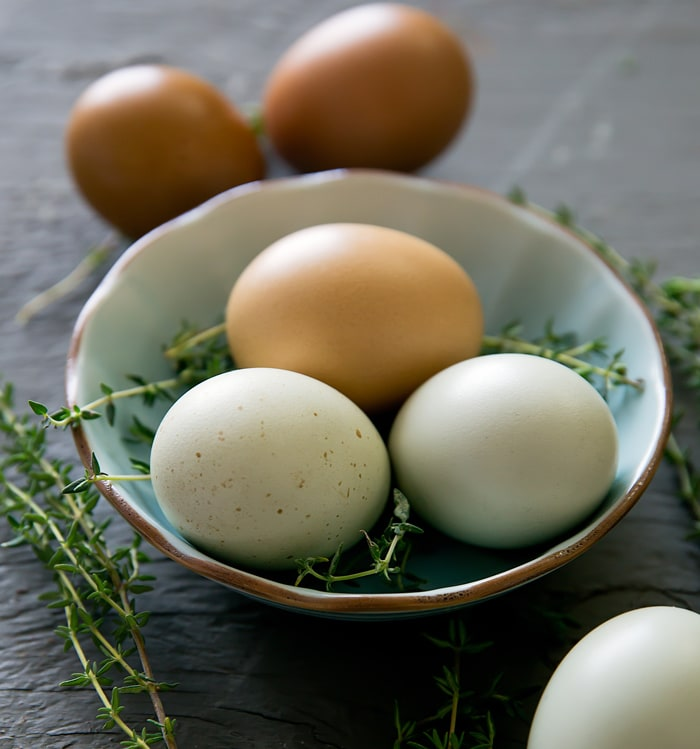 photo of eggs in a bowl