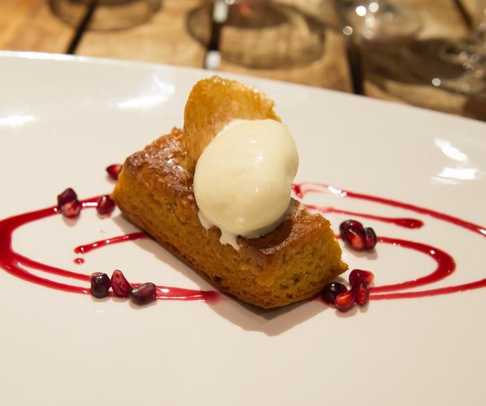 Almond Honey Cake