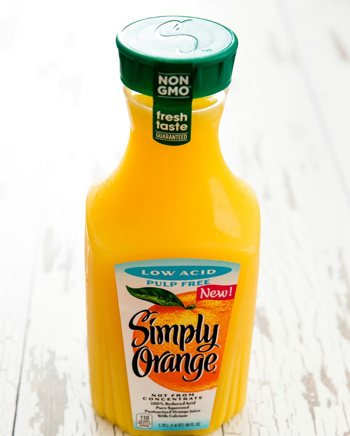photo of a bottle of Simply Orange® Low Acid