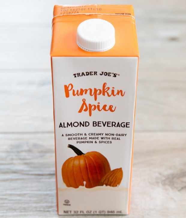 photo of a carton of Pumpkin Spice Almond Beverage