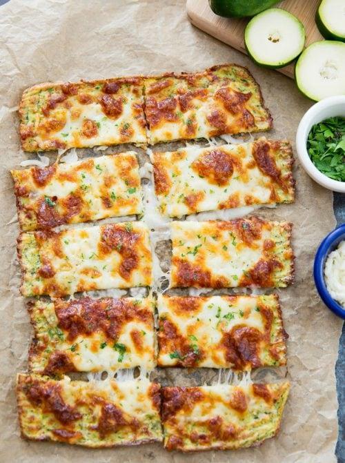 Zucchini Breadsticks