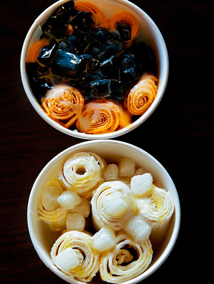 Bing Haus Rolled Ice Cream