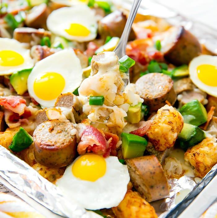 Loaded Breakfast Totchos