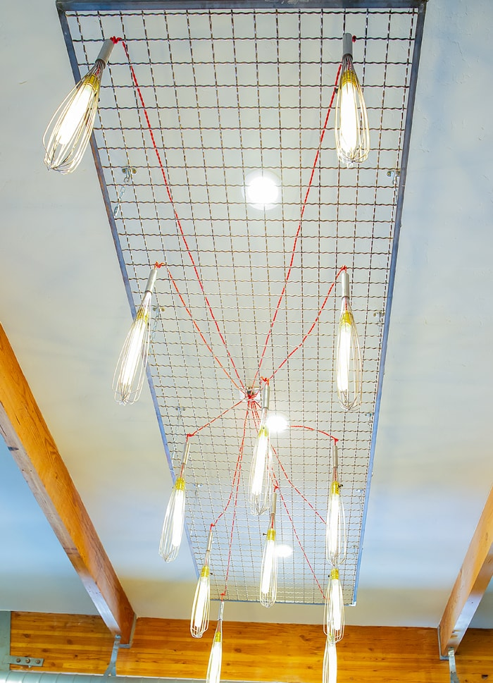 photo of the whisk light fixture