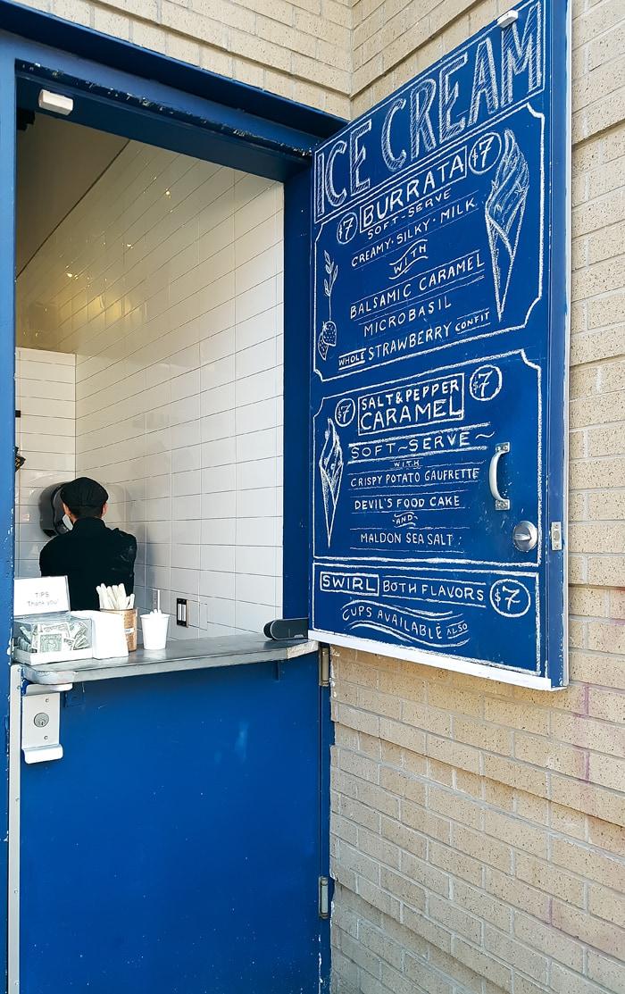 Dominique Ansel Kitchen soft serve
