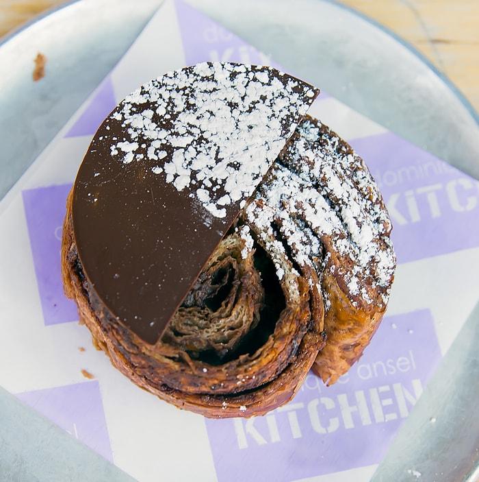 Dominique Ansel Kitchen Nutella swirl croissant