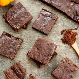 Flourless Nutella Brownies
