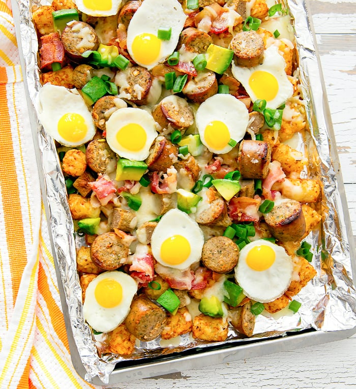 Loaded Breakfast Totchos