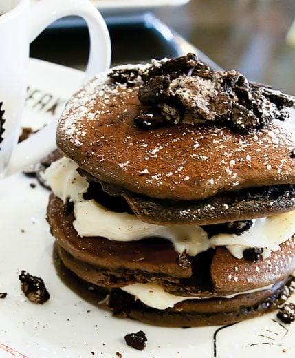oreo-pancake
