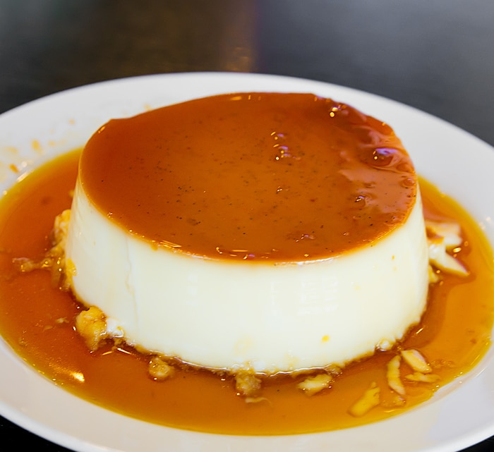 Custard Pudding from Peggy's Kitchen