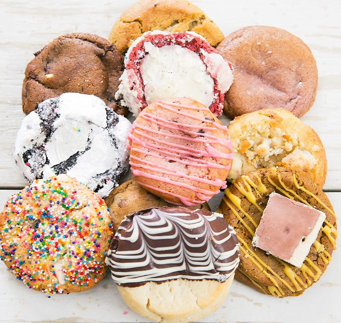 photo of different cookies