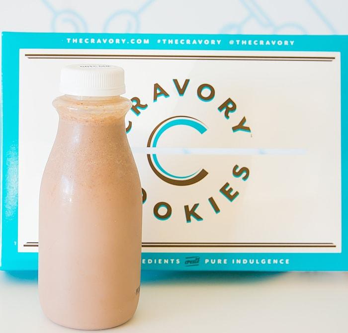 photo of nutella milk