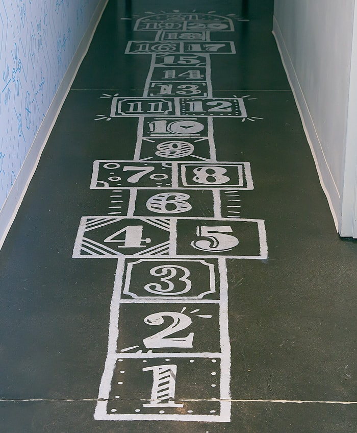 photo of the hopscotch at The Cravory Cookies Carlsbad
