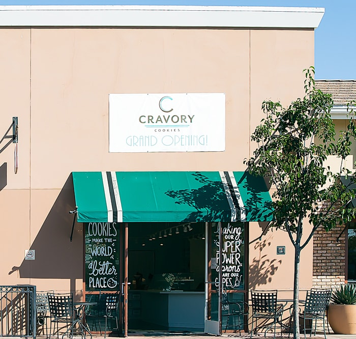 photo of the outside of The Cravory Carlsbad