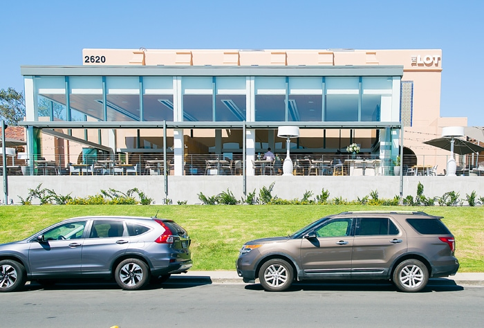 photo of the outside of The Lot at Liberty Station