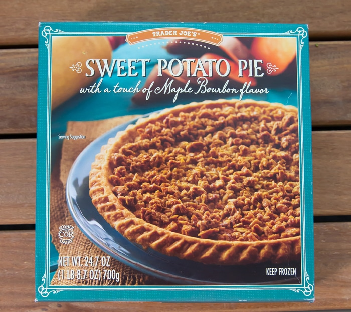Trader Joe's Sweet Potato Pie