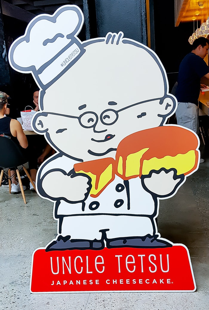 photo of Uncle Tetsu sign