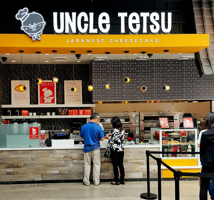 photo of the outside of Uncle Tetsu Japanese Cheesecake