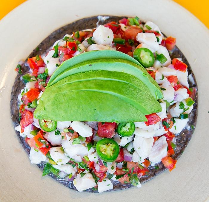 photo of dish served at Galaxy Taco