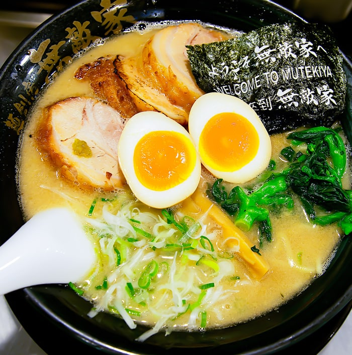 photo of Mutekiya ramen