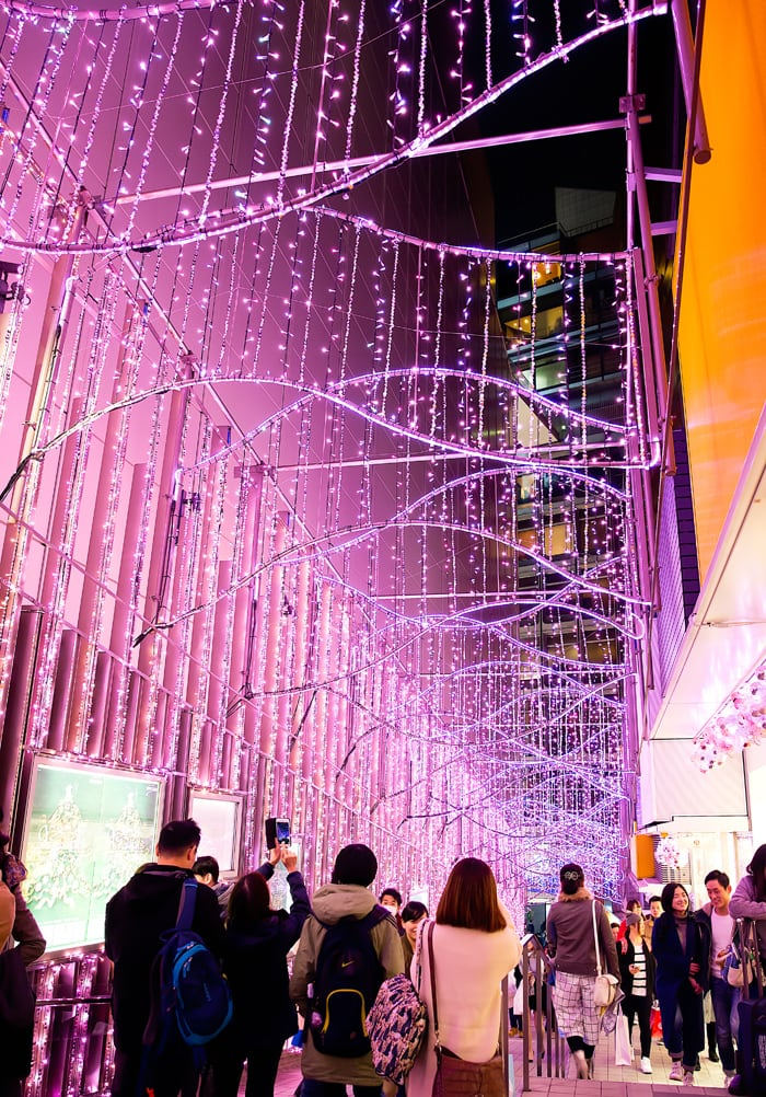 photo of Tokyo lights