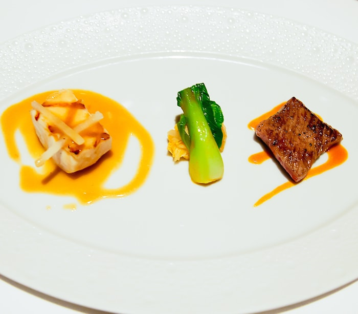 a dish from Le Bernadin