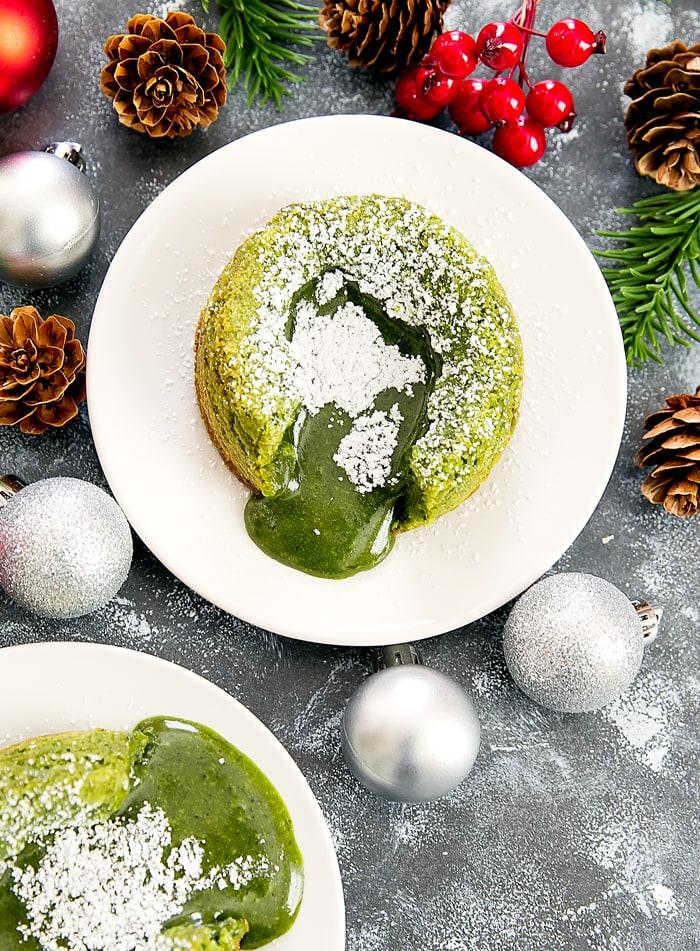 Kirbie S Green Tea Lava Cake