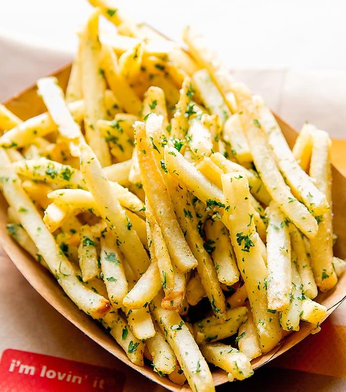 McDonald's Gilroy Garlic Fries - Kirbie's Cravings