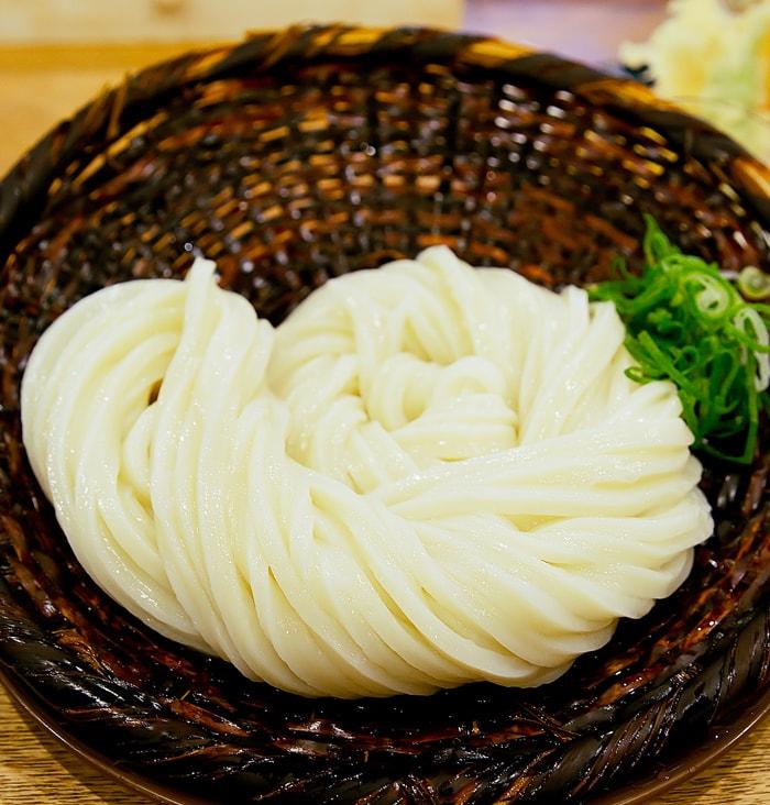 photo of a dish served at Udon Shin