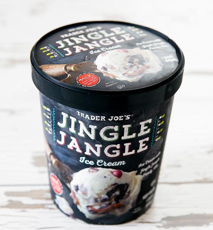 photo of a carton of Jingle Jangle Ice Cream