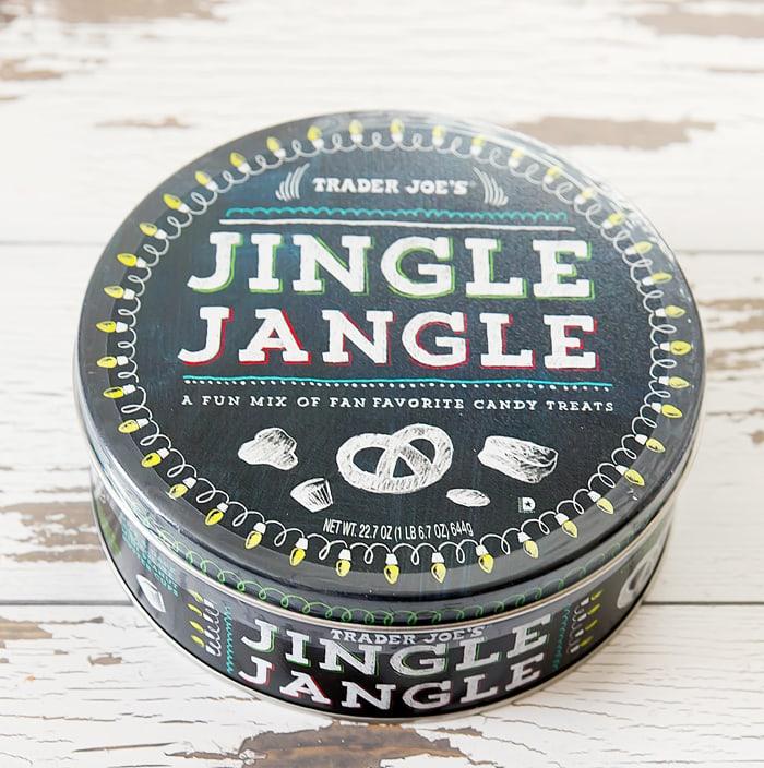 photo of a Jingle Jangle cookie tin