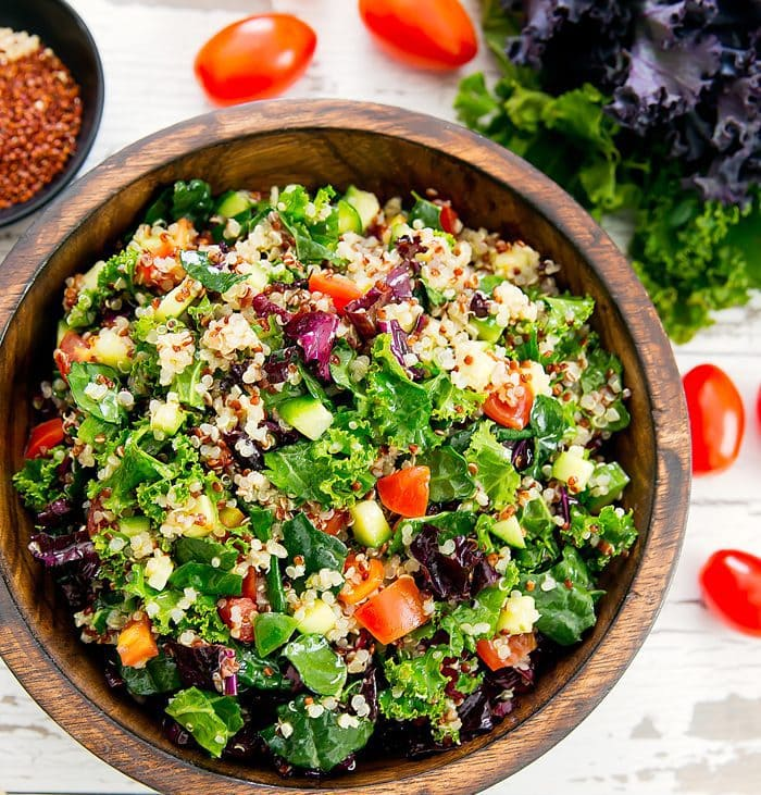 Kale Quinoa Salad Kirbie S Cravings
