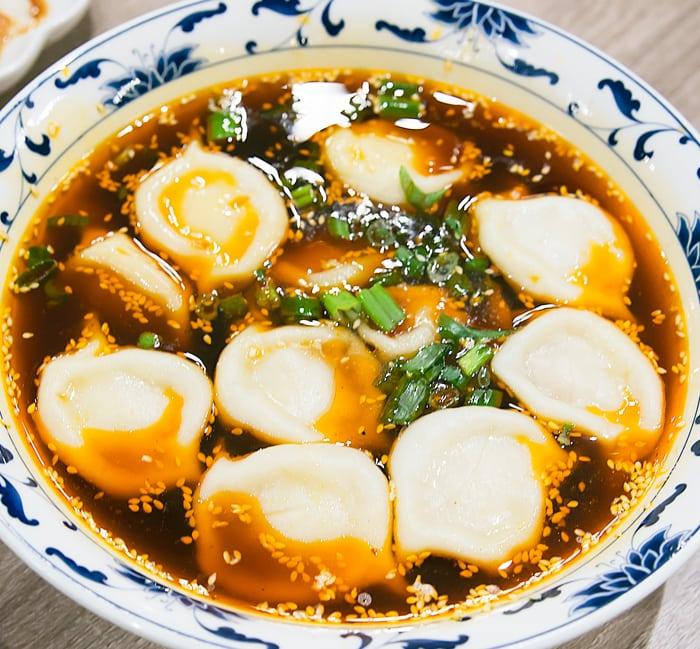 photo of Hot andSour Soup Dumplings