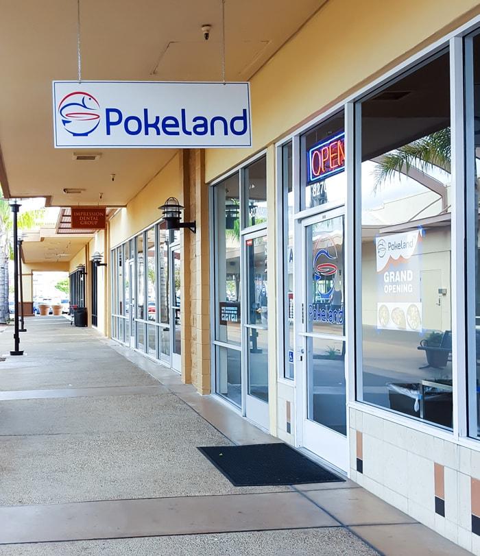 photo of the outside of Pokeland
