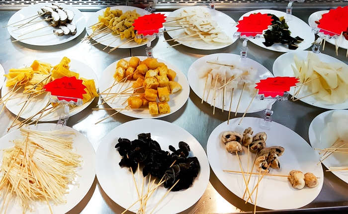 photo of skewers at Private Kitchens