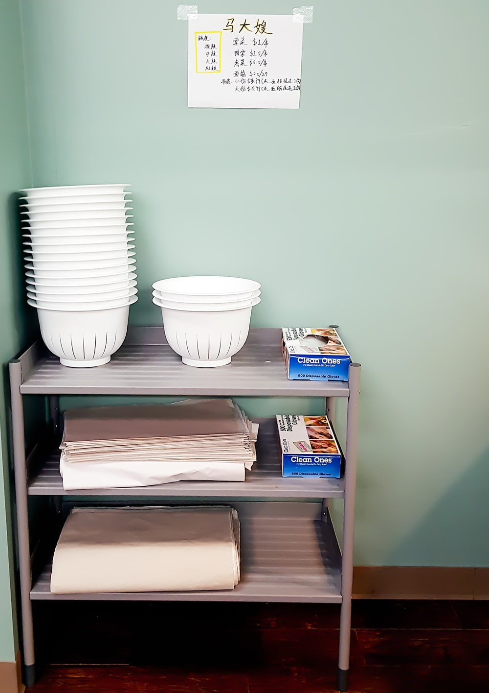 Photo of the bowls at Private Kitchens