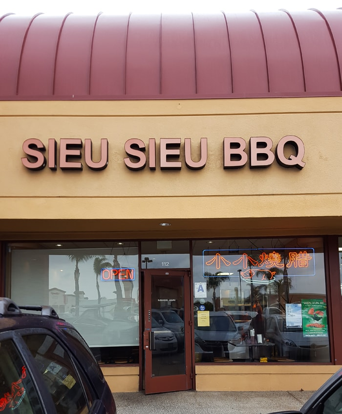 photo of the outside of Sieu Sieu BBQ