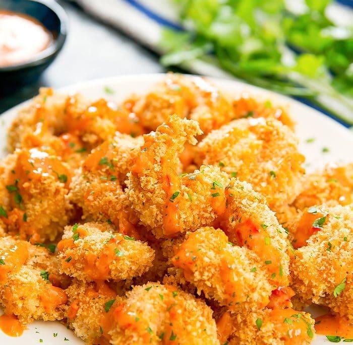 Crispy Baked Bang Bang Shrimp