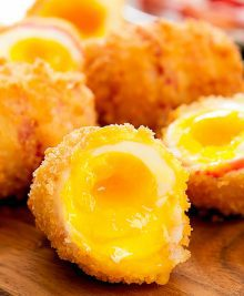 photo of Fried Bacon Wrapped Eggs
