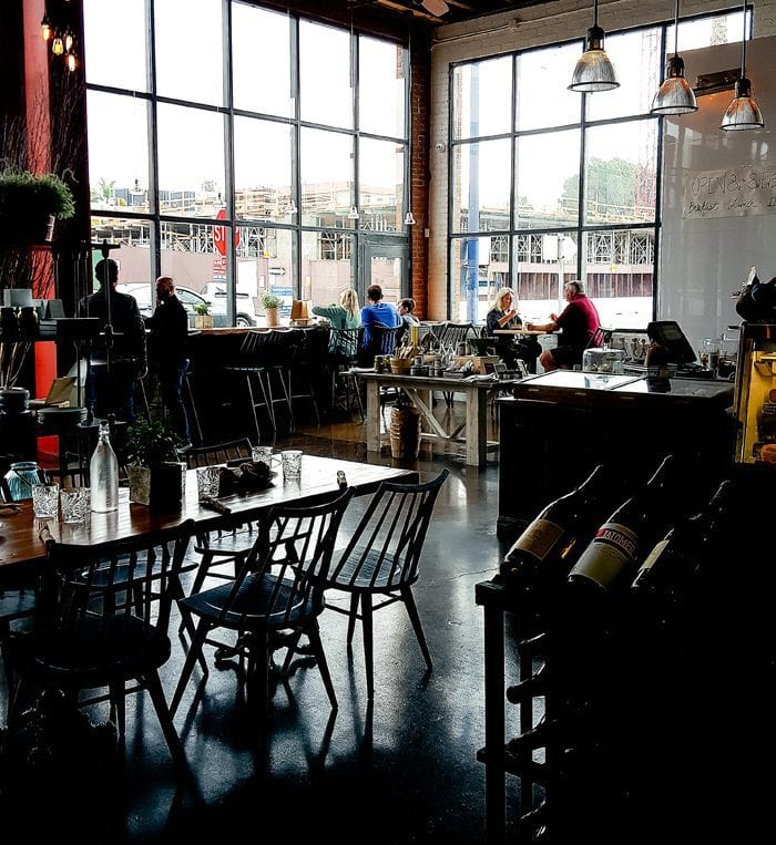 photo of the dining area in Herb & Eatery