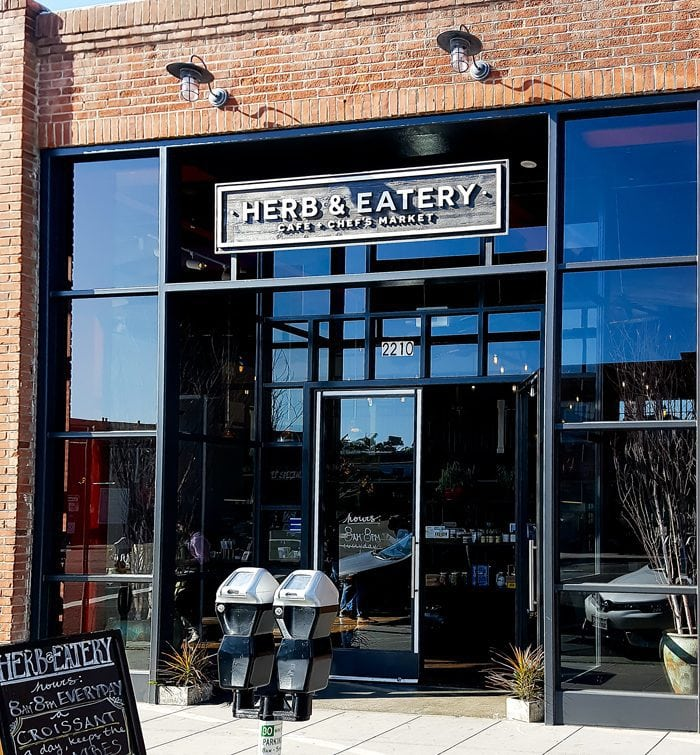 photo of the outside of Herb & Eatery
