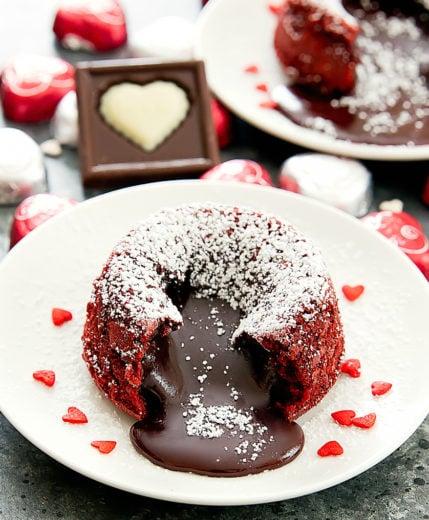 photo of Red Velvet Molten Lava Cakes
